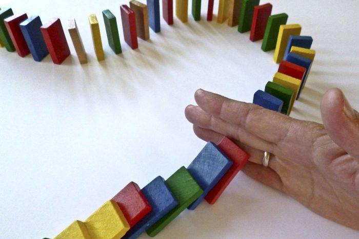 Door steeds meer te verbeteren ontstaat er een domino effect