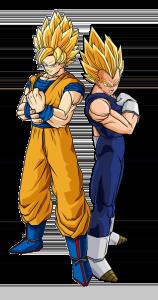 Goku en Vegeta