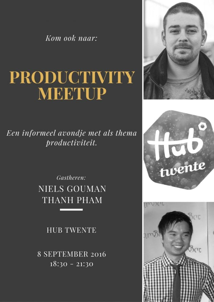 Productivity Meetup