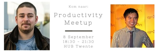Productivity-Meetup