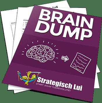 Braindump: de perfecte methode om van een druk hoofd naar een stress-vrij hoofd te gaan!