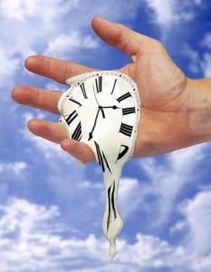 Wegglippende Tijd